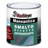 Manoantica smalto antiruggine formula gel BASE GRIGIA GRANA GROSSA lt 2,5